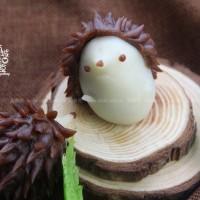 小刺猬冰皮月餅