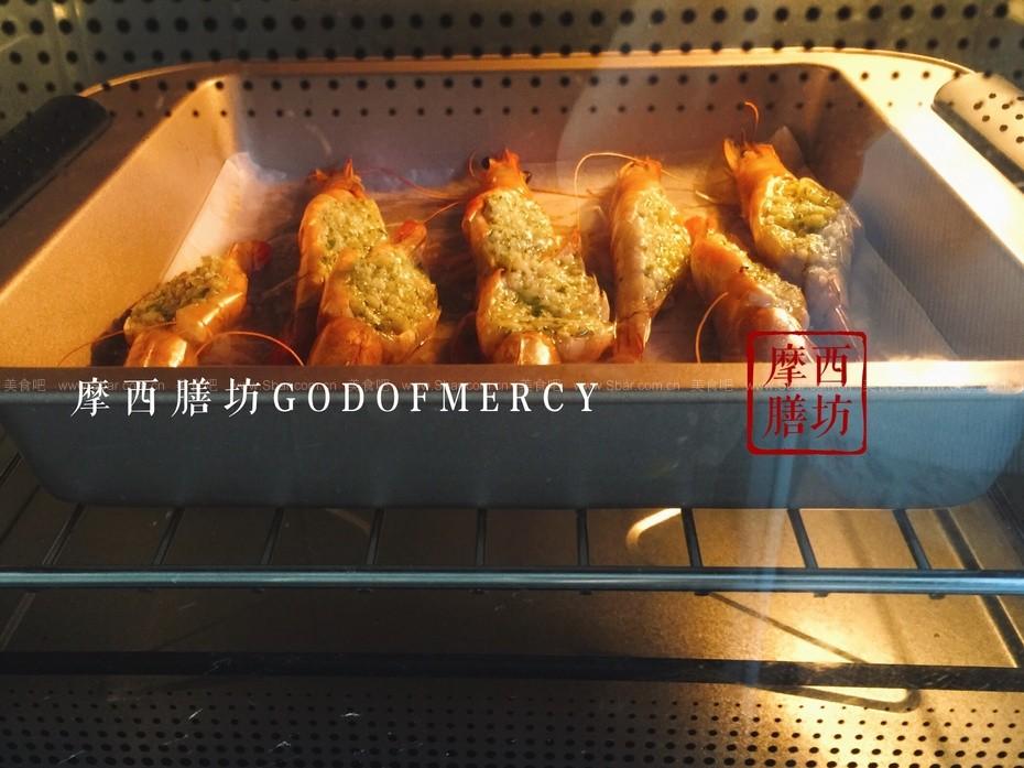 薄荷蒜蓉烤虾