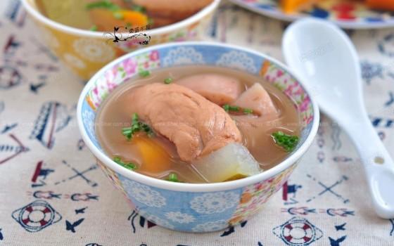 莲藕降燥汤