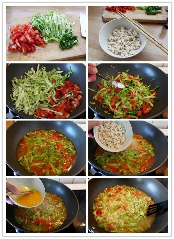 蕃茄鸡蛋疙瘩汤