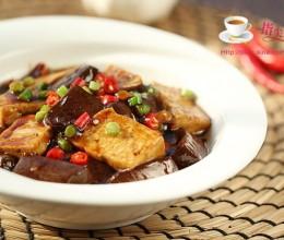 红烧双色豆腐