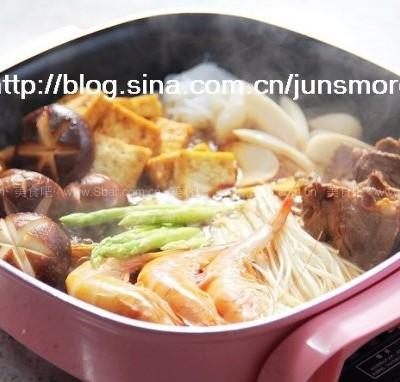 牛肉什锦火锅
