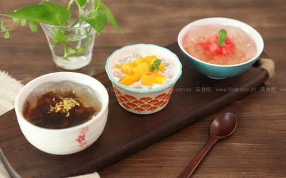 自制冰粉(四川传统消暑甜品)