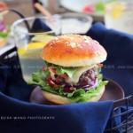 牛肉汉堡(营养早餐)
