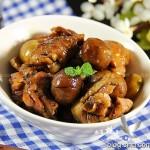 栗子鸡(秋季养生)