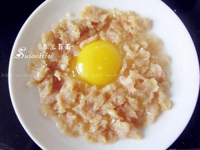 雞肉蒸雞蛋