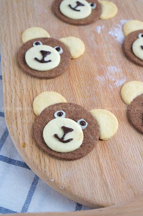 巧克力小熊饼干