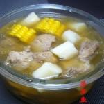 玉米山药排骨汤