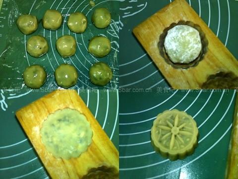 广式莲蓉五仁月饼