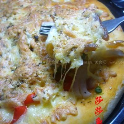 红薯香辣黄鱼披萨