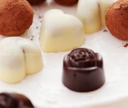 夹心白巧克力