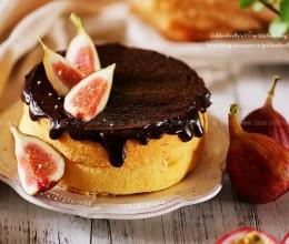 百香果巧克力戚风蛋糕