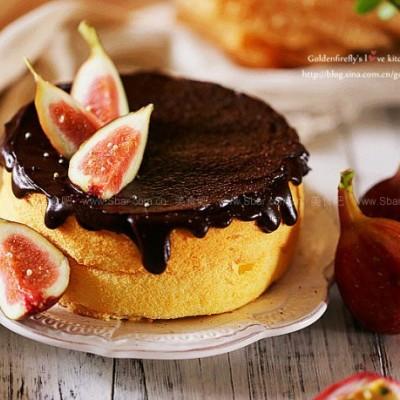 百香果巧克力戚風蛋糕