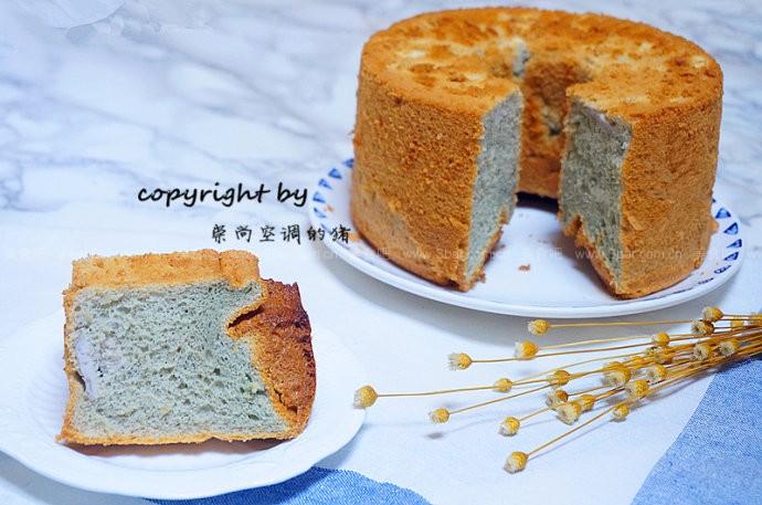 香芋戚风蛋糕