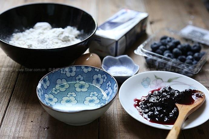 爆浆蓝莓马芬