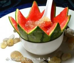 西瓜银耳汤(西瓜银耳羹、银耳西瓜羹)