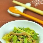 小炒黄花菜(素菜)