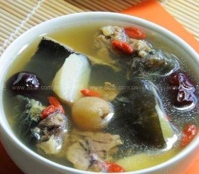 淮杞炖甲鱼和红烧甲鱼(家庭食疗)