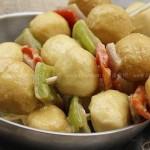 咖喱鱼蛋 (10分钟香港超火爆的街头人气小吃菜谱)