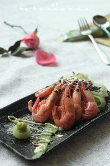 北极虾原食(冷盘菜谱)