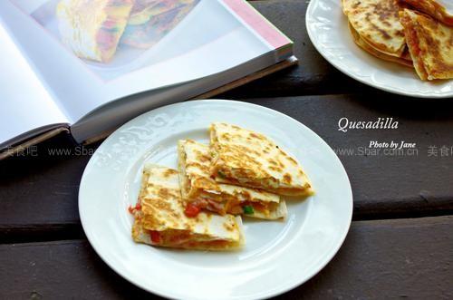 墨西哥芝士火腿饼(西餐菜谱)