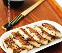 微波烤豆腐(夏日快手菜谱)
