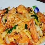 大虾烧白菜(青岛特色菜)