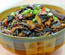 梅干菜烧鳝鱼(湖北十大名菜之一)