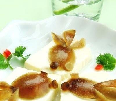 皮蛋豆腐(摆盘围边)