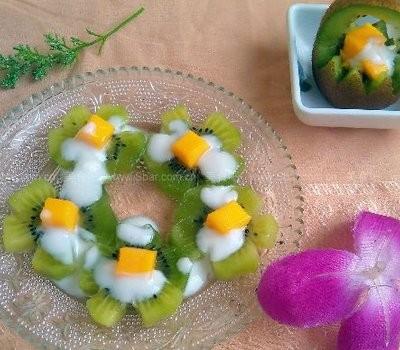猕猴桃酸奶沙拉(水果拼盘)