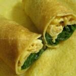 玉米面煎饼卷大葱(早餐菜谱)