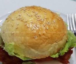 新奥尔良烤鸡腿堡(早餐菜谱)