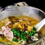 老坛酸菜肉片汤