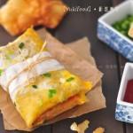 煎饼果子和薄脆(早餐菜谱)