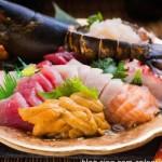 龍蝦刺身魚生拼盤