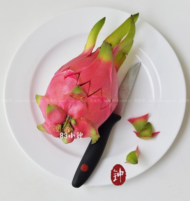 火龙果莲花(水果拼盘)