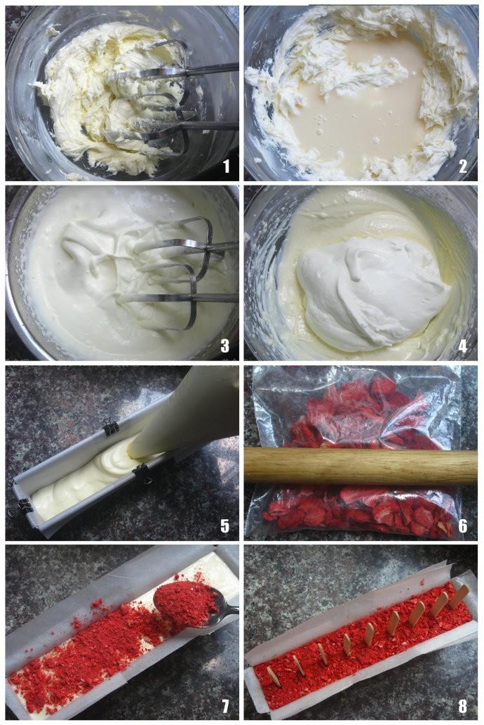芝士雪糕的制作方法