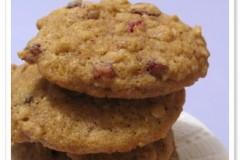 蔓越莓核桃软饼干