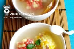 苹果玉米汤