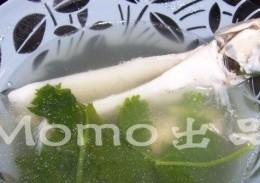 沙尖鱼芫茜汤
