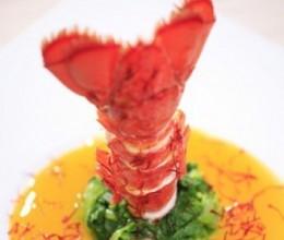 西藏红花浓汁龙虾