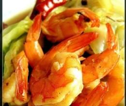 鲜虾大头菜