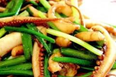 韭菜鱿鱼须