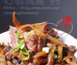 白辣椒蒸肉