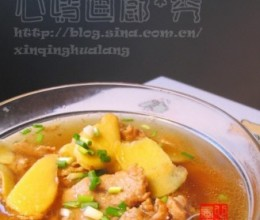 老姜肉片汤