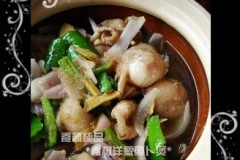青椒洋葱鱼卜煲