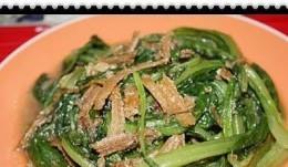 五香带鱼油麦菜