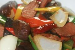 腊肉干香菇