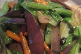 茄子皮油麦菜