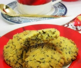 黑芝麻玉米酥饼